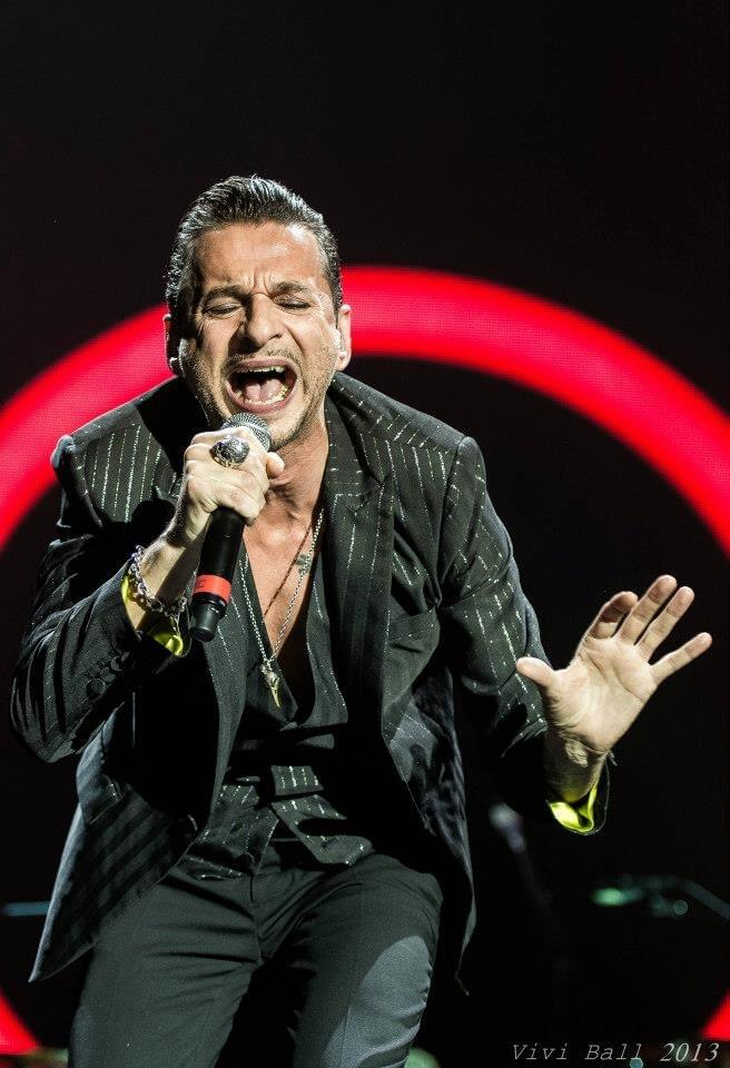 Dave Gahan of Depeche Mode, Nice 2013
