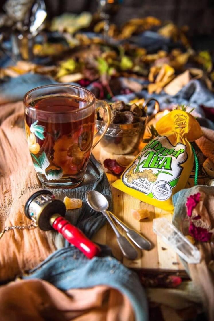 Ginger tea - Cooking Romania by Vivi
