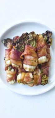 Bacon-Wrapped Bok Choy by John W. MacDonald
