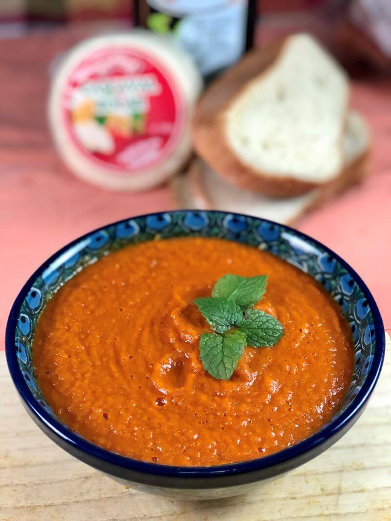 Easy creamy tomato soup no vegetable stock