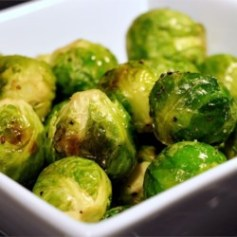Crown Roast Brus Sprouts