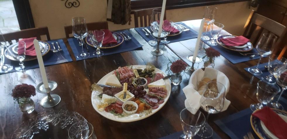 Catered Italian Dinner for 10