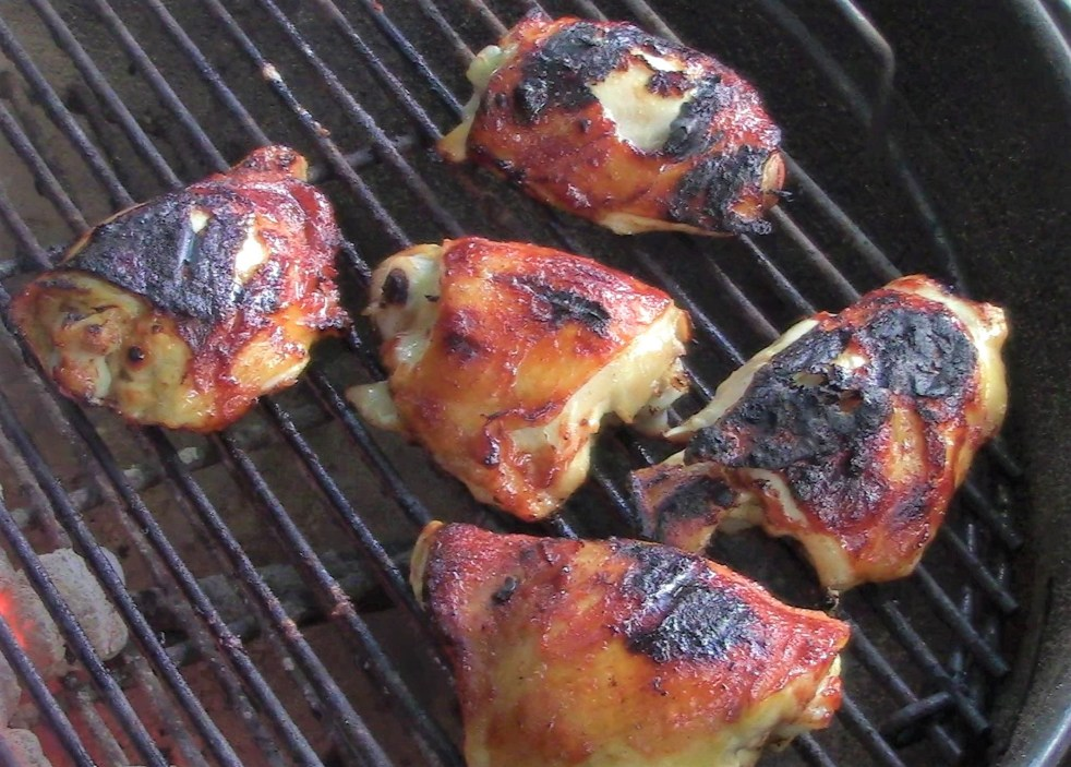 Grille Chicken Thighs