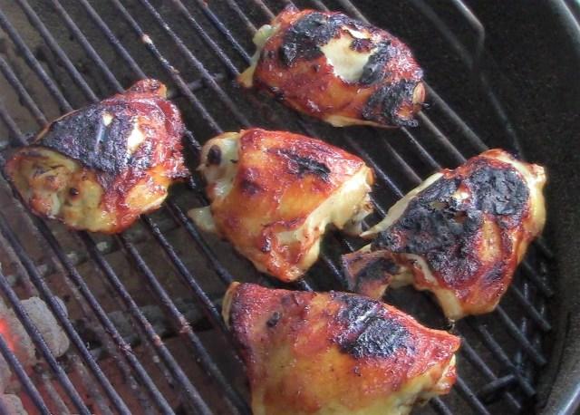 Grille Chicken Thighs
