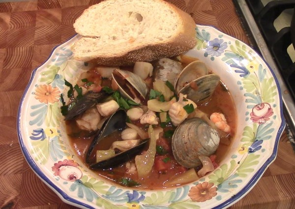 Cioppino Fisherman's Stew