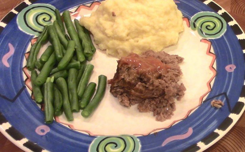 Instant Pot Meatloaf Mashed Potatoes