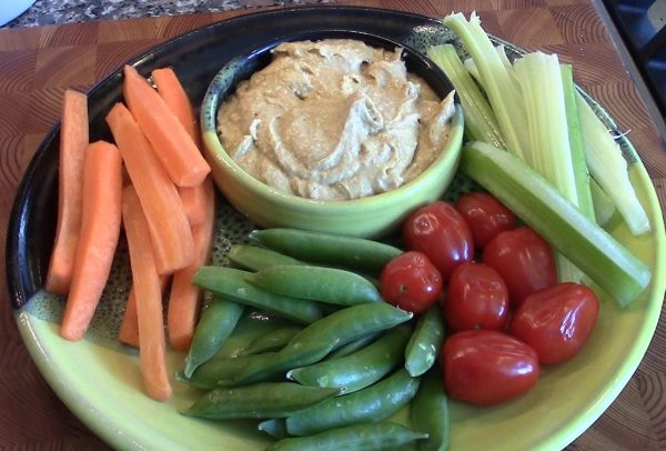 Curry Hummus Dip
