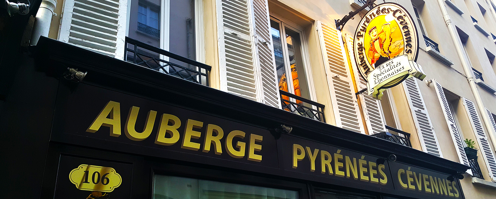 Auberge Pyrenées Cévennes - 106 Rue de la Folie Méricourt 75011 Paris (Low Carb in Paris) - Cooking Shit in Paris
