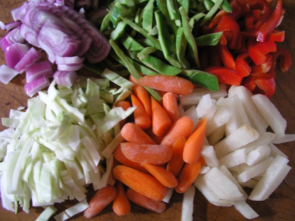 Asian Liver Vegetable Stir-Fry (2/3)