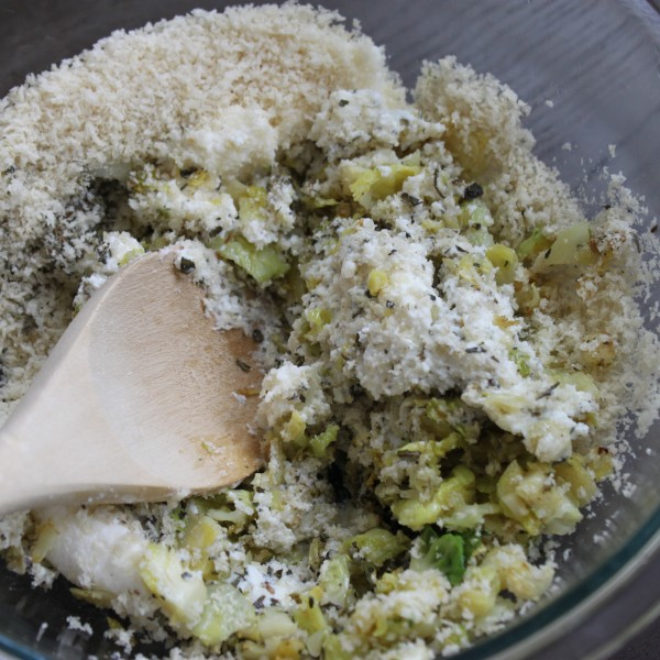 Brussels Sprouts Stuffing