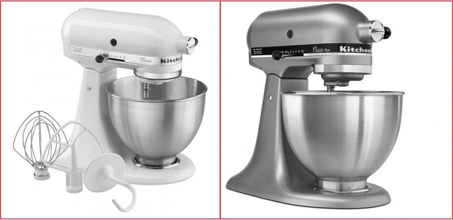 A Look at the Kitchenaid Mixer Classic vs the Classic Plus