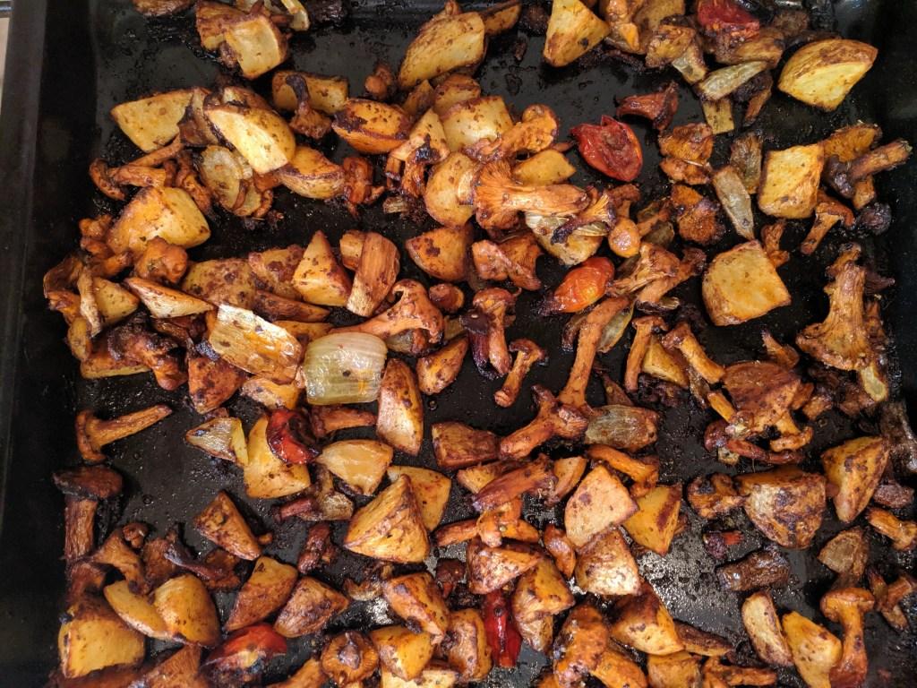 breakfast potatoes post oven
