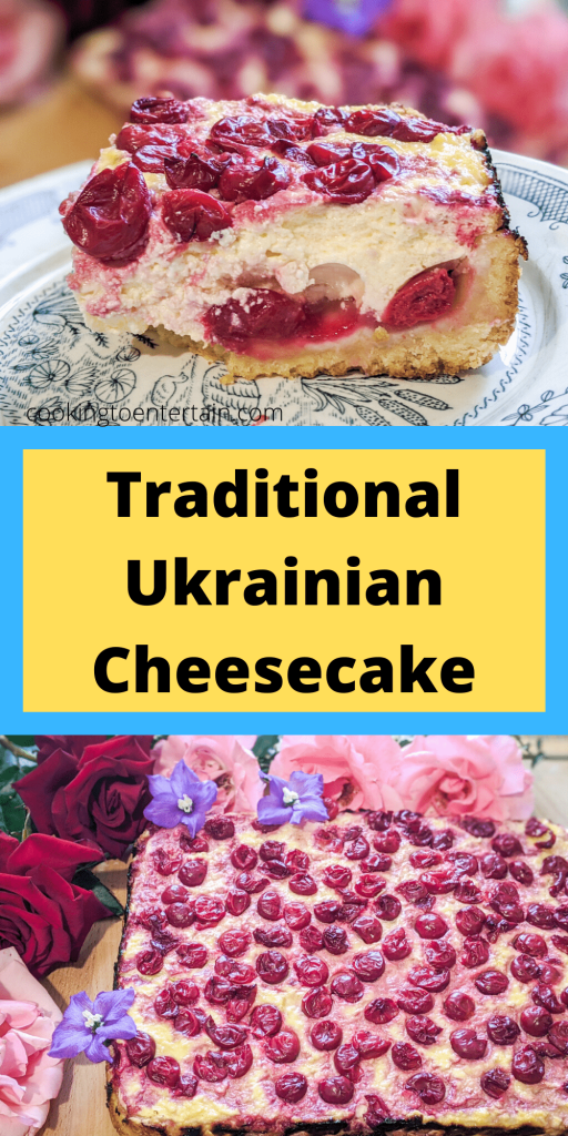 ukrainian cheesecake pin