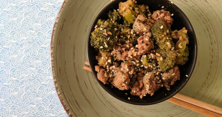 Broccoli Sausage Stir Fry