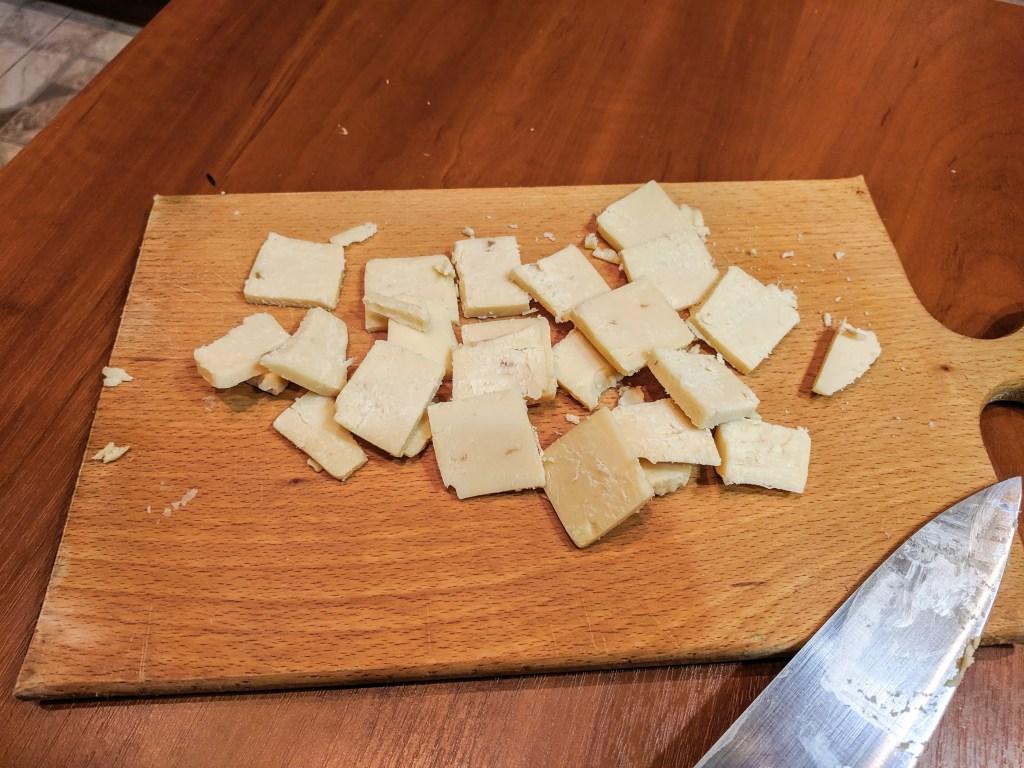 Onion Cheddar Squares