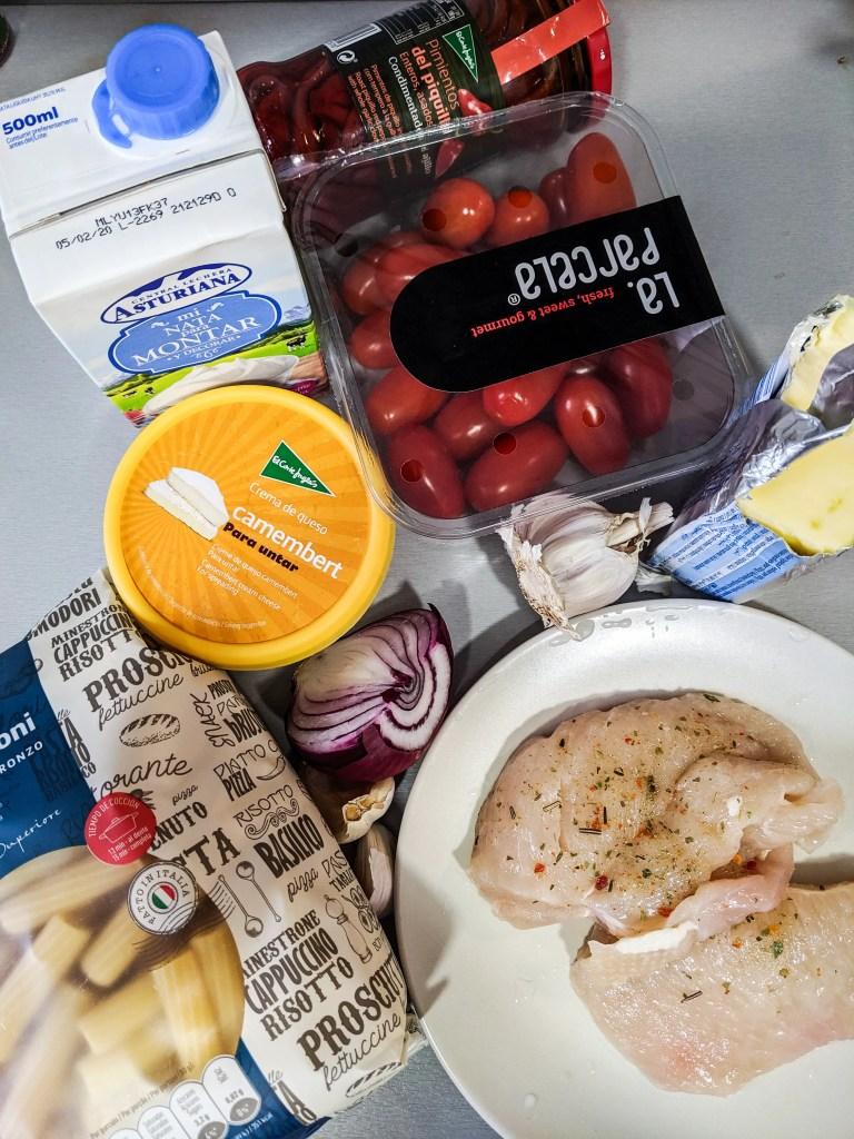 pasta alla camembert crema ingredients