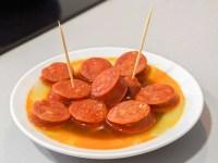 cider chorizo (chorizo a la sidra)