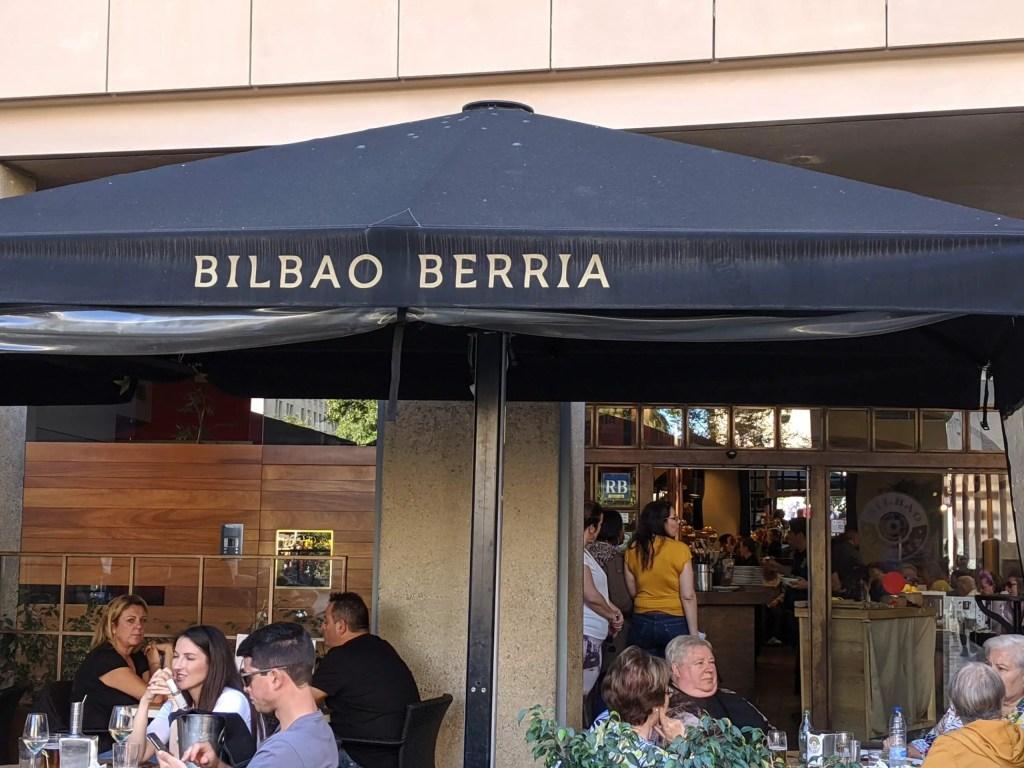 Bilbao Berria in Barcelona
