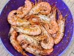 Grandma's Salty Shrimp