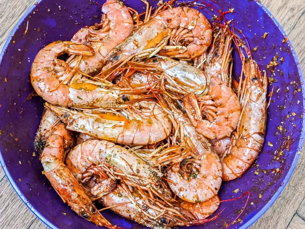 Grandma's Salty Shrimp