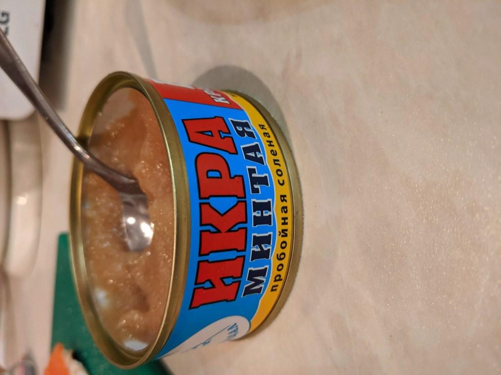 pollock roe caviar