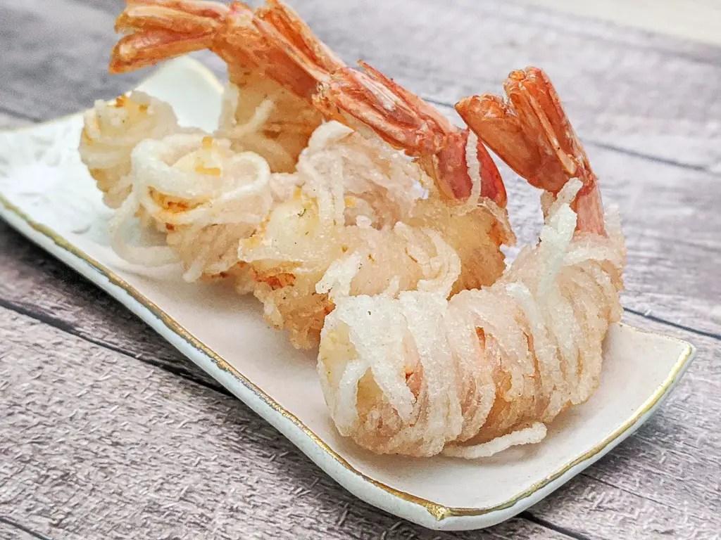 vermicelli wrapped prawns