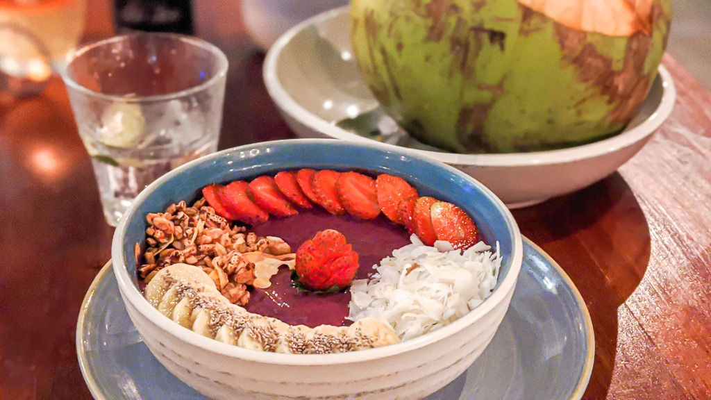 Acai Smoothie Bowl From Cocomo in Canggu, Bali, Indonesia