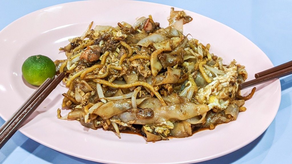 Fried Kway Teow at amoy street food centre