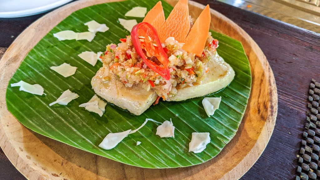 Traditional Balinese Indonesian Tuna Sambal Matah recipe