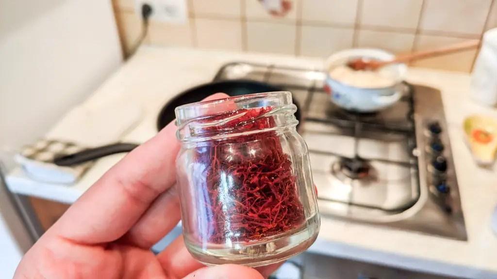 Saffron for the saffron rice