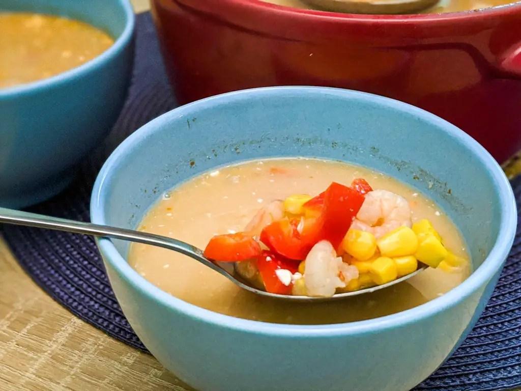 simple shrimp soup