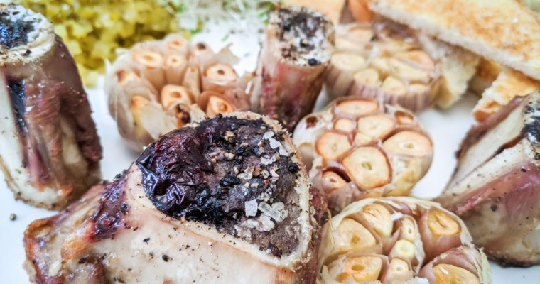 Roast Bone Marrow