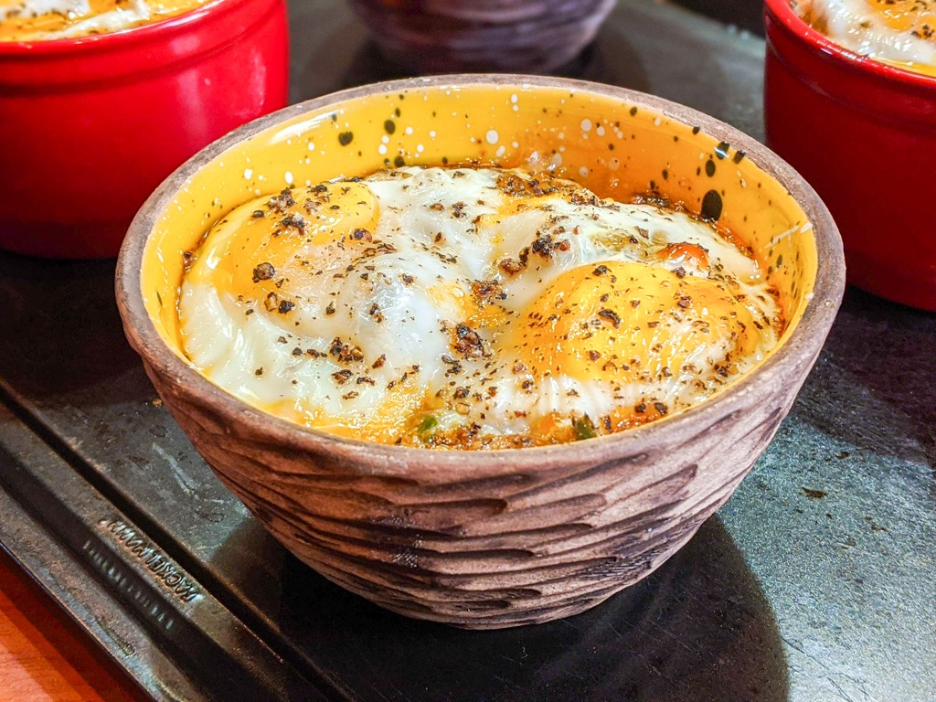 baked egg cups oeufs cocotte recipe page