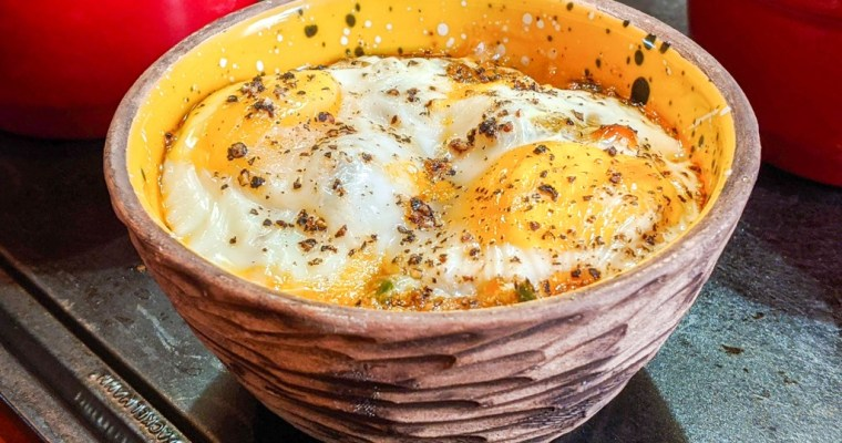Baked Egg Cups (Oeufs Cocotte)