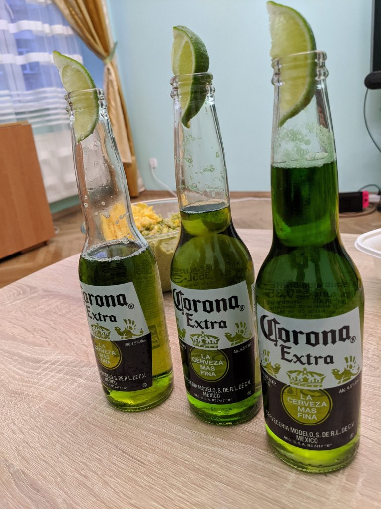 Green Corona for st. paddy's day