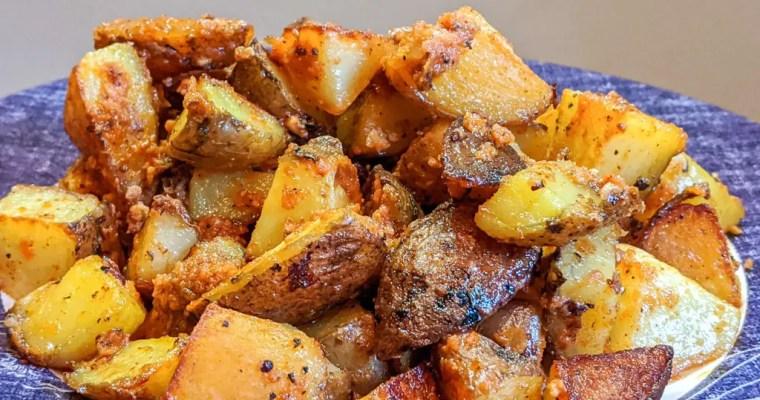 Red Pesto Potatoes