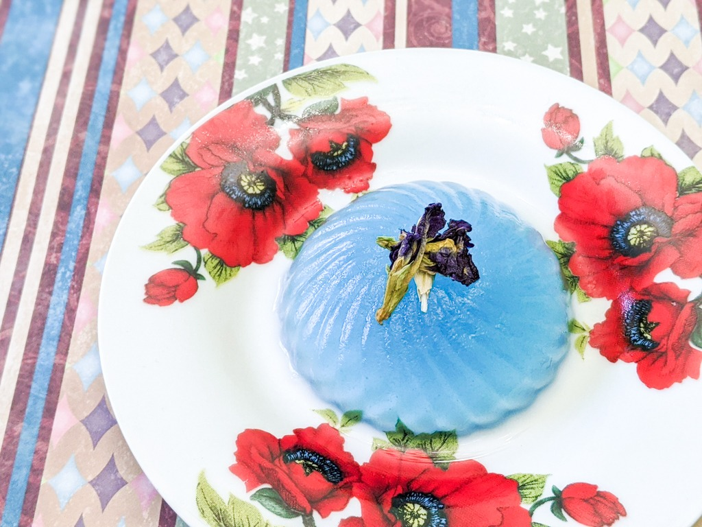 Butterfly Pea Flower Jello