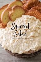 Squirrel salad long pin