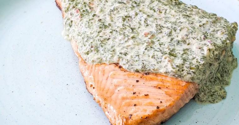 Sorrel Salmon (Saumon à l'oseille)