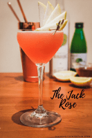 The Jack Rose Cocktail pin