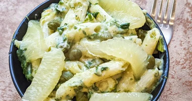 Lemon Caper Penne Pasta