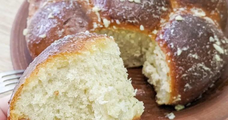 Pampushky (Ukrainian Garlic Bread) пампушки