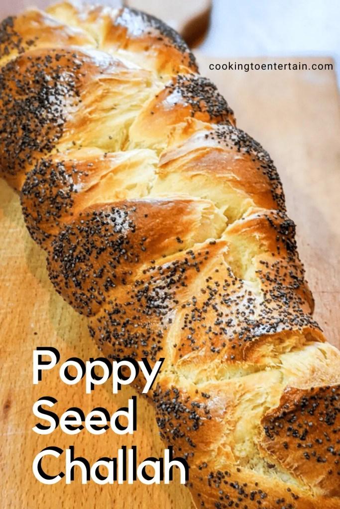 poppy seed challah bread recipe