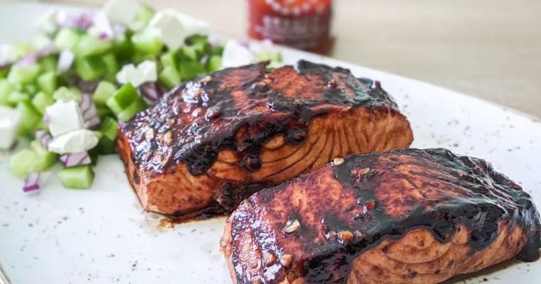 Sriracha Seared Salmon