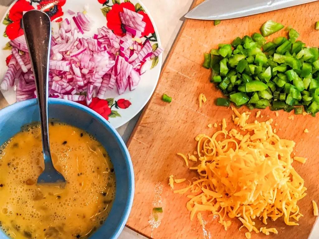 tortilla breakfast roll ingredients