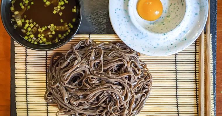 Zaru Soba (ざるそば) Japanese Cold Soba Noodles