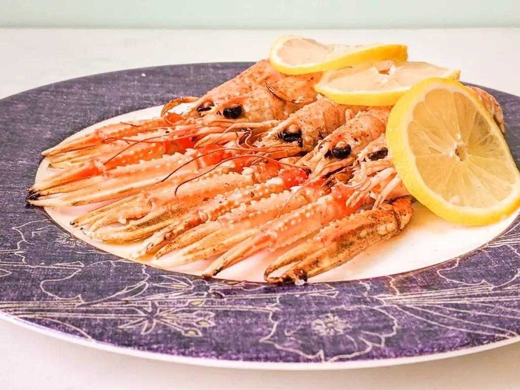 Grilled Langoustines (Cigalas a la Plancha)
