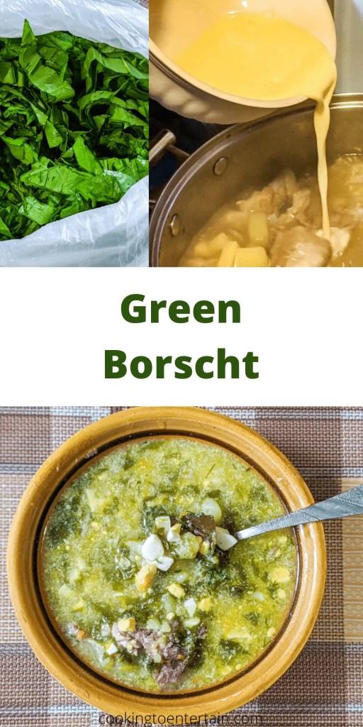 green borscht pin