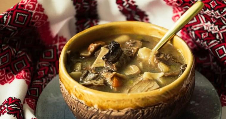 Carpathian Mushroom Soup