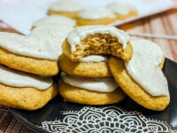 pumpkin cookies with cinnamon cream cheese frosting recipe